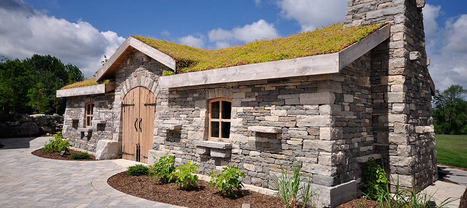 Constructed in 2012 by some of North America's and Europe's best dry stone wallers, the stone stable adds a truly unique experience to any special event.